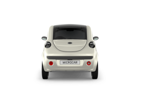 MICROCAR DUE PLUS PACK DESIGN FACE ARRIERE